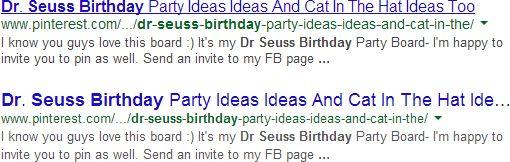 Redesign der Google SERPs Beispiel