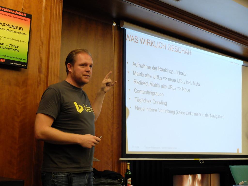Vortrag Markus Klöschen SEO Stammtisch